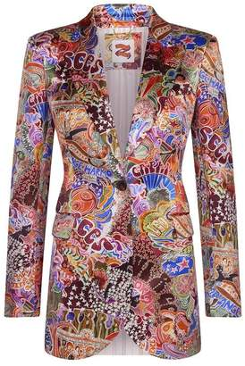 Tommy Hilfiger Tommy X Zendaya zodiac print blazer