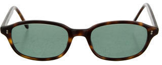 Paul Smith Marbled Tinted Sunglasses $85 thestylecure.com