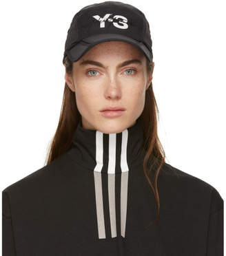 Y-3 Y 3 Black Foldable Cap