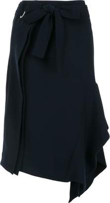 Eudon Choi side drape skirt