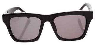 Linda Farrow The Row x Tinted Square Sunglasses