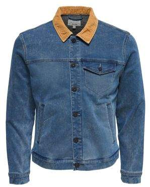 ONLY & SONS Casual Denim Jacket