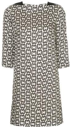 Milly chain print dress