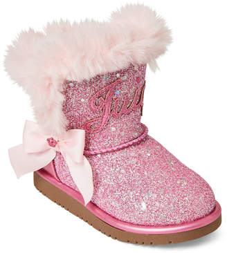 5c3a1d5f53 Juicy Couture Toddler Girls) Pink Lil Windsor Glitter Boots