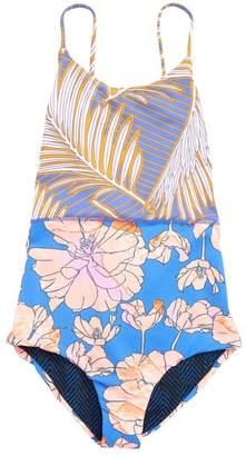28320b87d6ec7 Maaji Magnificent Arrecifes Reversible One-Piece Swimsuit (Big Girls)