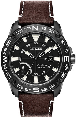Citizen Men's Leather Watch