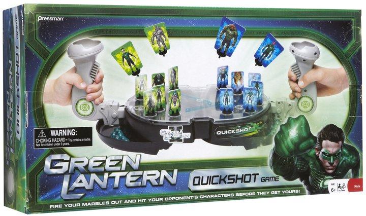 Pressman Toys Green Lantern Green Latern Quickshot Game