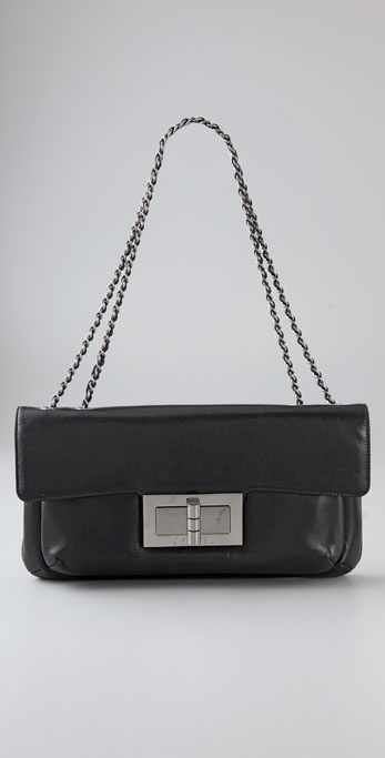 Wgaca Vintage Vintage Chanel Silver Chain Bag