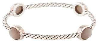 David Yurman Moonstone Four Station Cable Classics Bangle