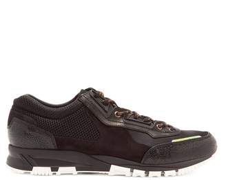 Lanvin Contrast panel low-top trainers