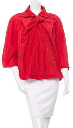 Stella McCartney Bow Lightweight Jacket