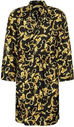 Versace Silk Baroque Robe