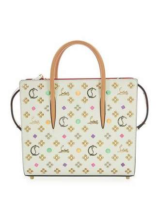 Christian Louboutin Paloma EmpireSpikes LoubinTheSky Medium Calf Tote Bag
