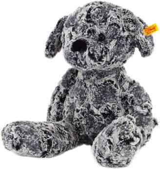 Steiff Large Taffy Dog, Mottled Grey