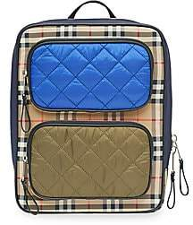 Burberry Remi Check Mix Backpack