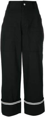Philosophy di Lorenzo Serafini carrot fit trousers