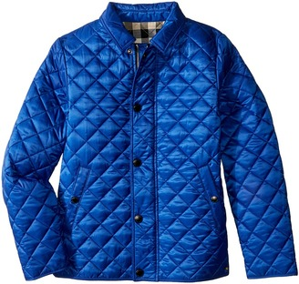 Burberry Kids - Luke Quilted Jacket Boy's Coat $250 thestylecure.com