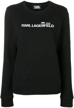 Karl Lagerfeld Ikonik & logo sweatshirt