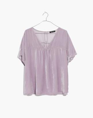 Madewell Velvet Rhyme Top