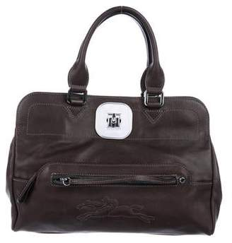 Longchamp Leather Gatsby Bag