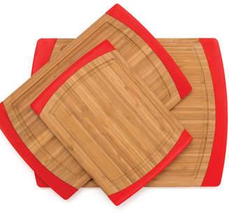 Lipper 3 Piece Bamboo Cutting Board Set