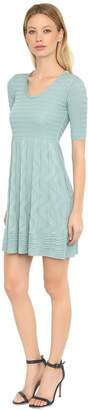 M Missoni Cotton Knit Jacquard Dress