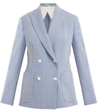 Max Mara Ballata Jacket - Womens - Blue White