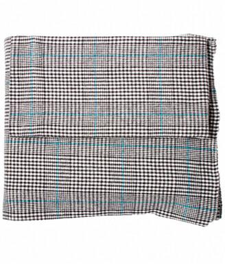 Belle Epoque Plaid Flannel Black Plaid Sheet Set