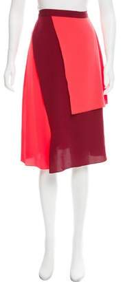 Tanya Taylor Two-Tone Ava Skirt w/ Tags