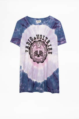 Zadig & Voltaire Walk Tie & Dye T-Shirt