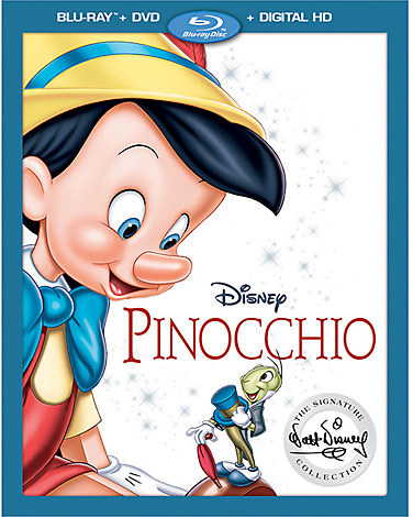 Pinocchio Blu-ray Combo Pack - Pre-Order