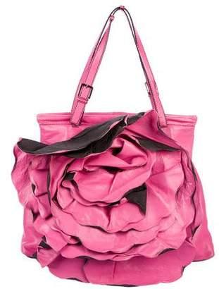 Valentino Petale Rose XL Frame Bag