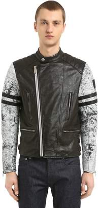 Belstaff Ennis Leather Moto Jacket