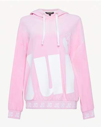 Juicy Couture Juicy Cherry Velour Hooded Pullover