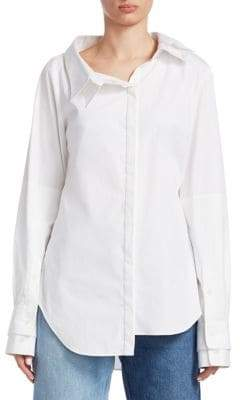 Monse Solid Double Collar Shirt