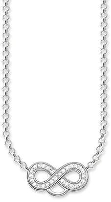 Thomas Sabo Infinity Pave Chain Necklace