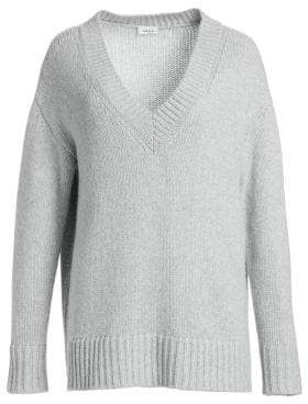 Akris Punto Oversize V-Neck Knit Sweater