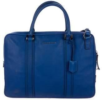 Burberry Small Newburg Leather Messenger Bag