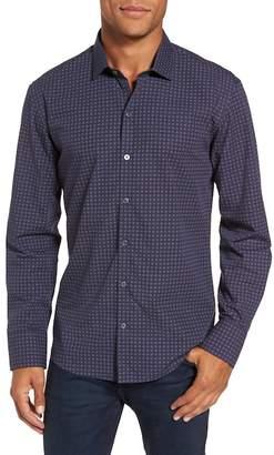 Zachary Prell Maison Print Slim Fit Sport Shirt