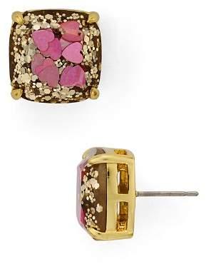 Kate Spade Hearts & Glitter Earrings