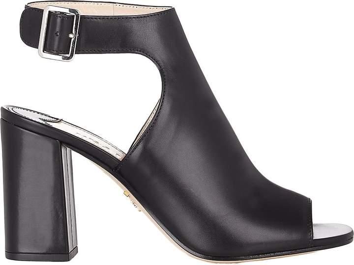 Prada Women's Chunky-Heel Halter-Strap Sandals