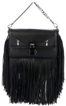 1630ddbbb2be Fendi 2018 Monster Micro Fringe Baguette Bag