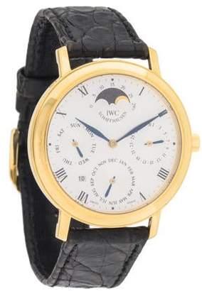 IWC Portofino Romana Perpetual Calendar Watch