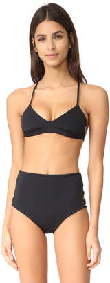 Mara Hoffman Scoop Neck Bikini $105 thestylecure.com