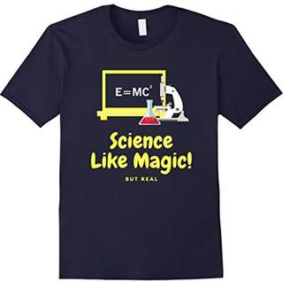 MC2 Saint Barth Mens SCIENCE LIKE MAGIC BUT REAL SCIENTIST SHIRT | E = TEE Small