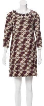 Tory Burch Embellished Silk Dress