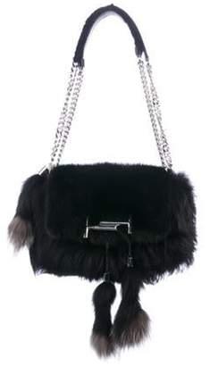 Tod's Mink Flap Crossbody Bag Black Mink Flap Crossbody Bag