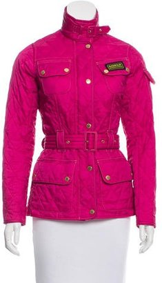 Barbour Quilted Lightweight Jacket $175 thestylecure.com
