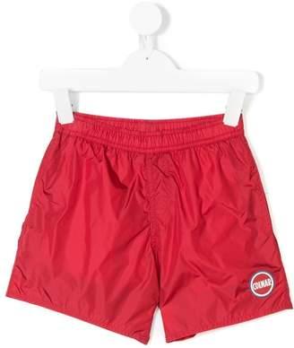 Trunks Colmar Kids logo plaque swim shorts
