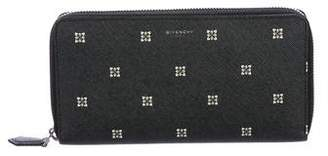 Givenchy Leather Travel Wallet